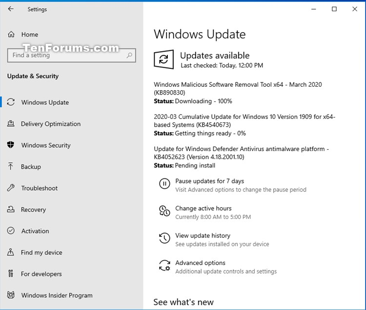 KB890830 update Windows Malicious Software Removal Tool 5.81 March 10-kb4540673.jpg