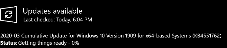 KB4551762 CU Win 10 v1903 build 18362.720 and v1909 build 18363.720-image.png