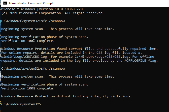 KB4551762 CU Win 10 v1903 build 18362.720 and v1909 build 18363.720-screenshot-1-.png