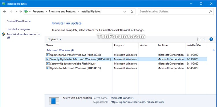 KB4541738 for Windows 10 Insider Preview Slow Build 19041.153 March 13-kb4545706.jpg