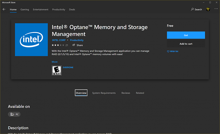 Intel Rapid Storage Technology will no longer be updated [EOL] notice-image.png