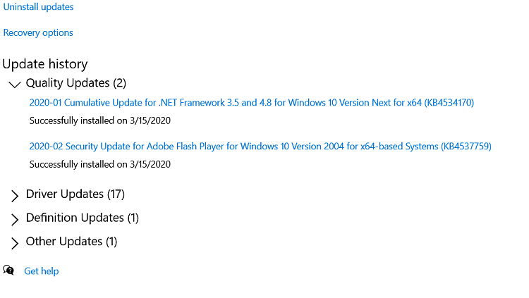 KB4541738 for Windows 10 Insider Preview Slow Build 19041.153 March 13-second-install.png
