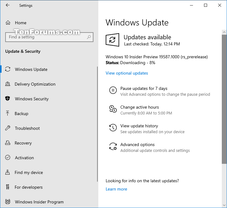 Windows 10 Insider Preview Fast Build 19587.1000 - March 18-19587.png