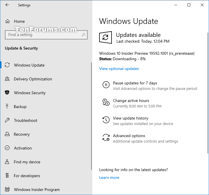 Windows 10 Insider Preview Fast Build 19592.1001 - March 25-19592.png