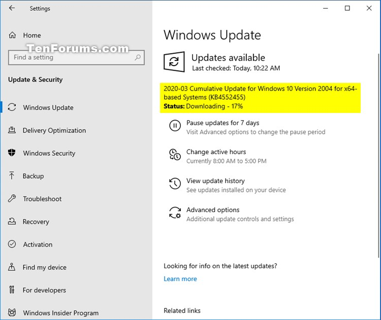 KB4552455 for Windows 10 Insider Preview Slow Build 19041.172 March 26-kb4552455.jpg