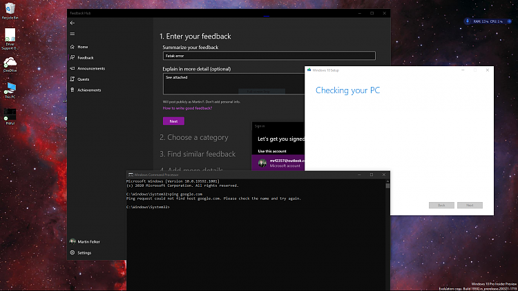 Windows 10 Insider Preview Fast Build 19592.1001 - March 25-fatal.png