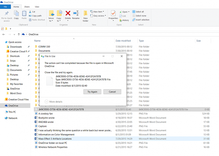 OneDrive Sync Issue Solved - Windows 10 Forums
