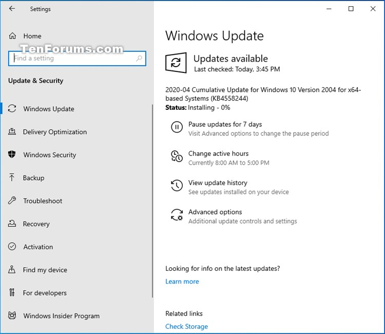 Windows 10 May 2020 Update 20H1 RP build 19041.208 - April 30-kb4558244.jpg