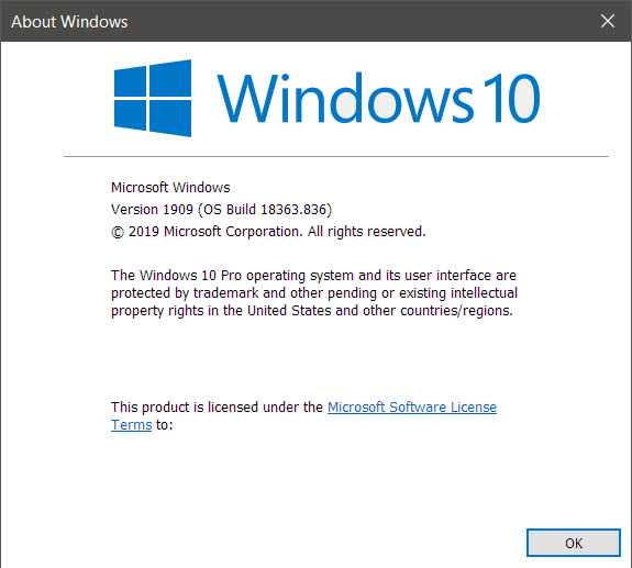 KB4556799 CU Win 10 v1903 build 18362.836 and v1909 build 18363.836-winver.jpg