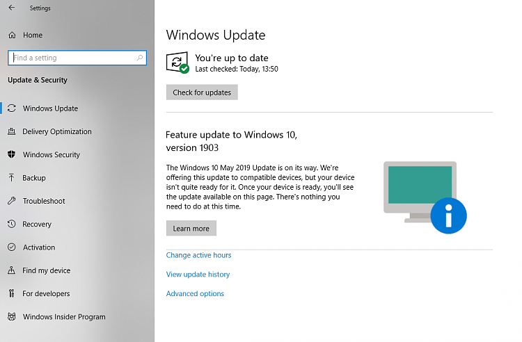 How to get the Windows 10 May 2020 Update version 2004-1903-update-notice.png
