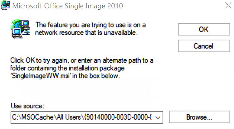 Known and Resolved issues for Windows 10 May 2020 Update version 2004-mp3gain-error.jpg
