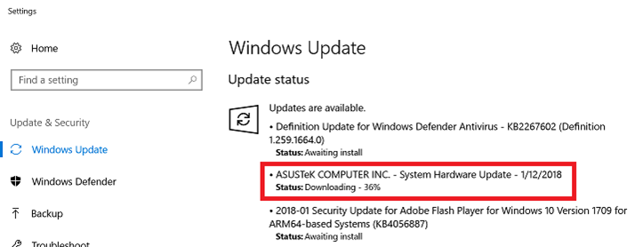 How to get the Windows 10 May 2020 Update version 2004-asus.png