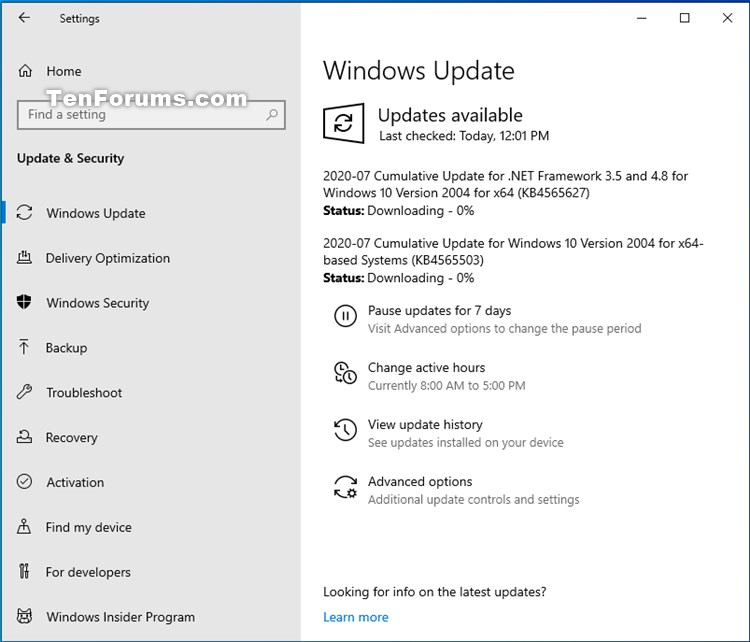 KB4565503 Cumulative Update Windows 10 v2004 build 19041.388 - July 14-kb4565503.jpg