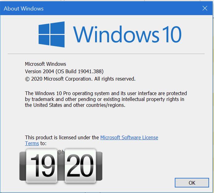 KB4565503 Cumulative Update Windows 10 v2004 build 19041.388 - July 14-image.png