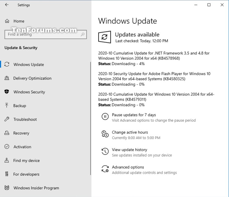 KB4579311 Cumulative Update Windows 10 v2004 build 19041.572 - Oct. 13-kb4579311.jpg