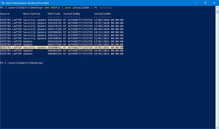 KB4601382 CU Windows 10 v2004 build 19041.844 and v20H2 19042.844-kb5000911.png
