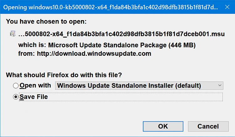 KB5000802 CU Windows 10 v2004 build 19041.867 and v20H2 19042.867-2021-03-10_17h09_17.png