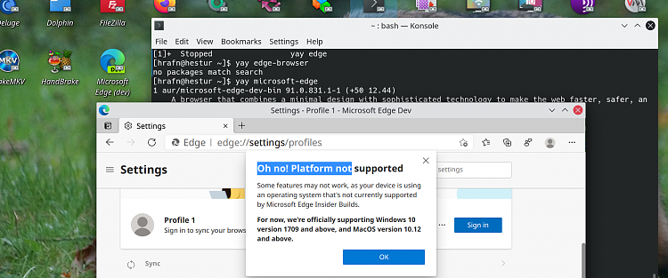 You can now sign-in and sync favorites with Microsoft Edge on Linux-screenshot_20210324_080409.png