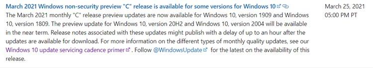 KB5001649 CU Windows 10 v2004 build 19041.870 and v20H2 19042.870-update.jpg
