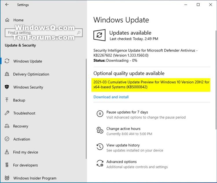 KB5000842 CU Windows 10 v2004 build 19041.906 and v20H2 19042.906-kb5000842.jpg