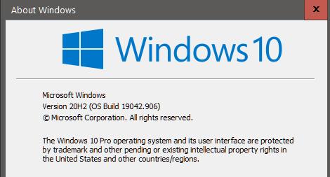 KB5000842 CU Windows 10 v2004 build 19041.906 and v20H2 19042.906-capture.png