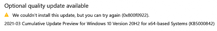 KB5000842 CU Windows 10 v2004 build 19041.906 and v20H2 19042.906-failed-update.png