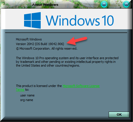 KB5000842 CU Windows 10 v2004 build 19041.906 and v20H2 19042.906-winver-after-installing-kb5000842.png