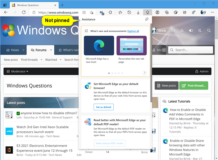Add or Remove Assistance Home Button on Toolbar in Microsoft Edge-microsoft_edge_show_assitance_home_not_pinned.png