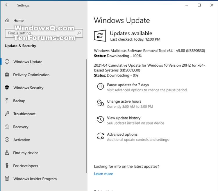 KB5001330 CU Windows 10 v2004 build 19041.928 and v20H2 19042.928-kb5001330.jpg
