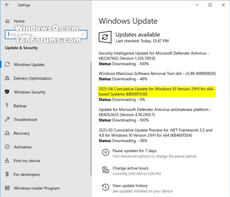KB5001330 Windows 10 Insider Beta 19043.928 21H1 and RP 19042.928 20H2-kb5001330-21h1.jpg