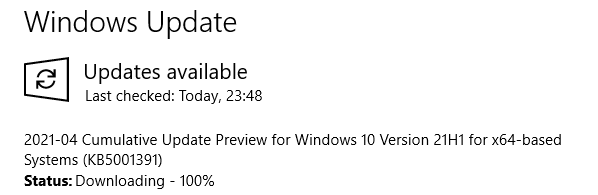 KB5001391 Windows 10 Insider Beta 19043.962 21H1 and RP 19042.962 20H2-image.png