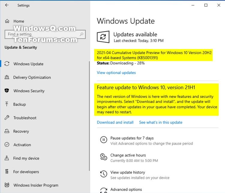 KB5001391 Windows 10 Insider Beta 19043.964 21H1 and RP 19042.964 20H2-kb5001391.jpg