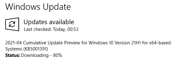 KB5001391 Windows 10 Insider Beta 19043.964 21H1 and RP 19042.964 20H2-image.png