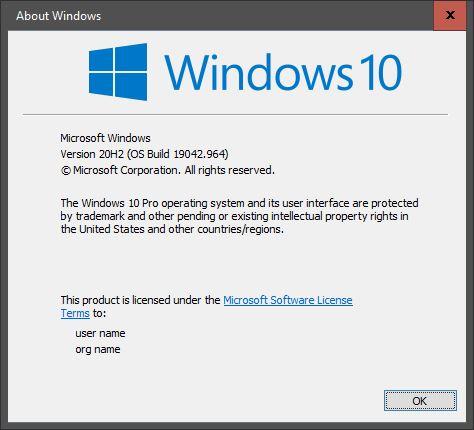 KB5001391 CU Windows 10 v2004 build 19041.964 and v20H2 19042.964-capture.jpg
