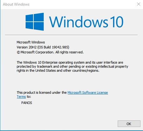 KB5003173 Windows 10 Insider Beta 19043.985 21H1 and RP 19042.985 20H2-985.jpg