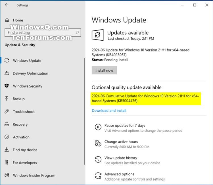 KB5004476 Windows 10 2004 19041.1055, 20H2 19042.1055, 21H1 19043.1055-kb5004476.jpg