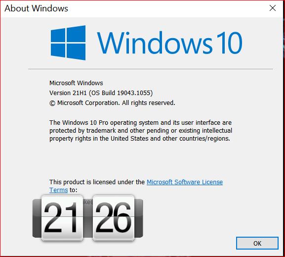 KB5004476 Windows 10 2004 19041.1055, 20H2 19042.1055, 21H1 19043.1055-image.png