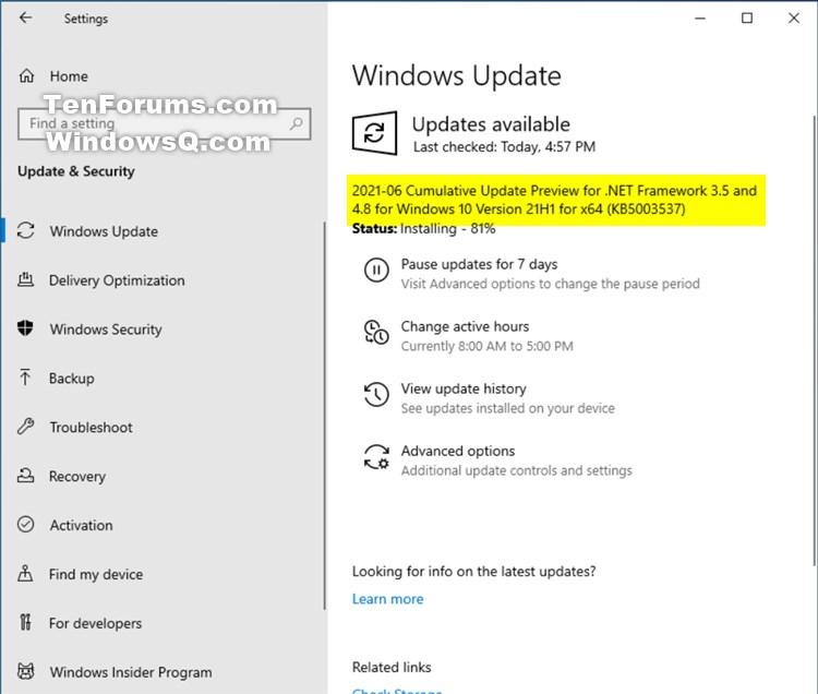KB5003537 Cumulative Update .NET Framework 3.5 and 4.8 for Windows 10-kb5003537.jpg