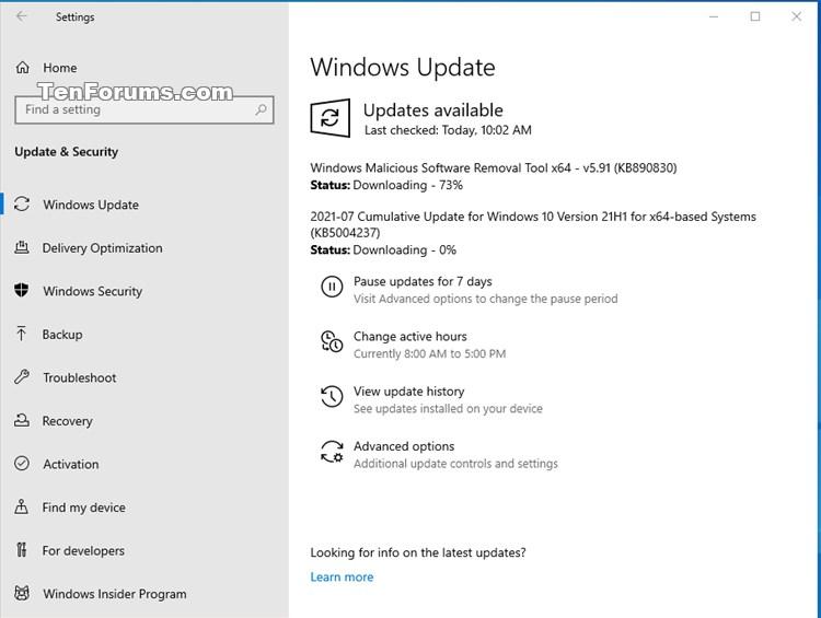 KB5004237 Windows 10 2004 19041.1110, 20H2 19042.1110, 21H1 19043.1110-kb5004237.jpg