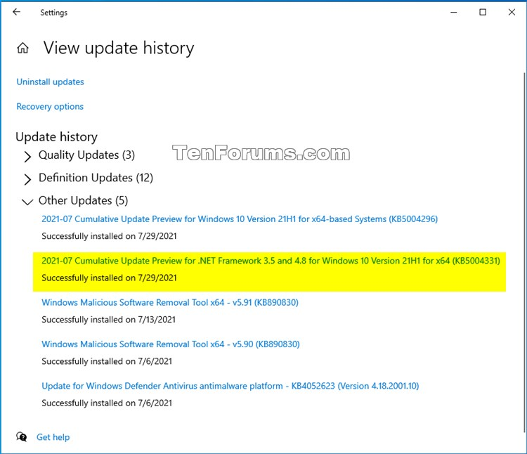 KB5004331 Cumulative Update .NET Framework 3.5 and 4.8 for Windows 10-kb5004331.jpg