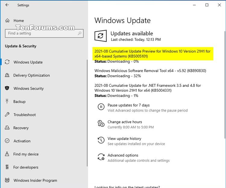 KB5005101 Windows 10 Insider RP 19043.1200 (21H1) 19044.1200 (21H2)-kb5005101.jpg