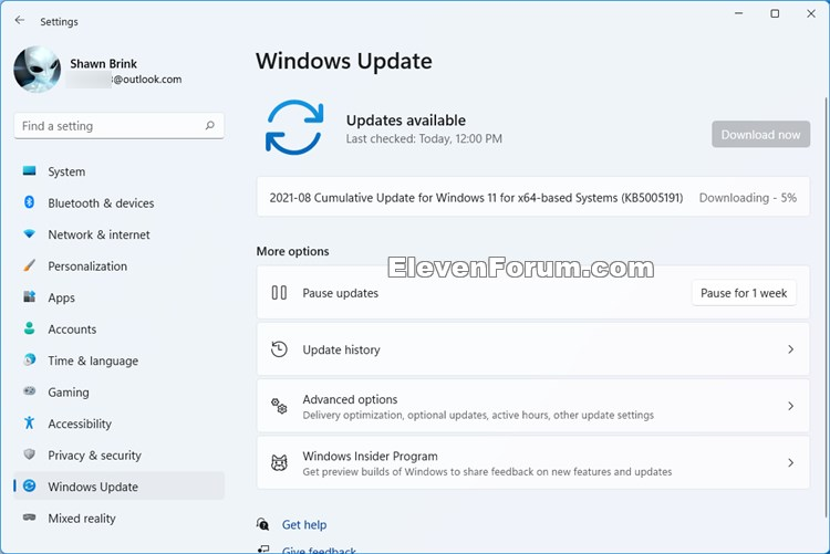 KB5005191 Windows 11 Insider Preview Dev and Beta Build 10.0.22000.168-kb5005191.jpg