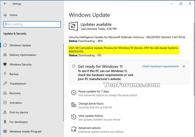 KB5005101 Windows 10 Insider RP 19043.1202 (21H1) 19044.1202 (21H2)-kb5005101.jpg