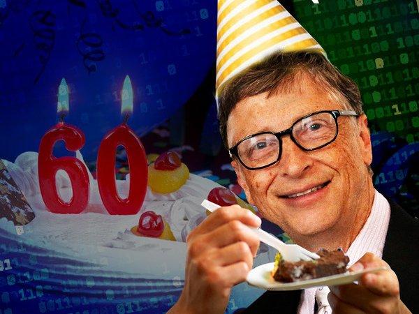 Bill Gates At 60 A Look Back Happy Birthday Bill
