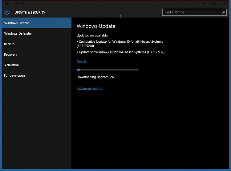 Windows 10 Update KB3106932 and KB3105210 - October 29-image-002.png
