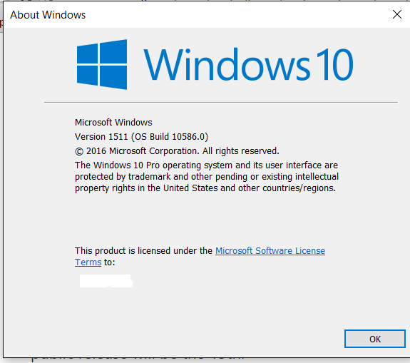 Announcing Windows 10 Insider Preview Build 10586 for PC-winver-2.0.png
