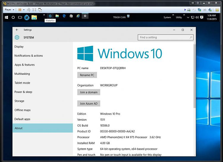 Click image for larger version.  Name:Windows 10 Pro Insider Preview VM - How to Find Build Number.jpg Views:7 Size:113.9 KB ID:46526