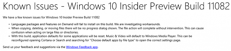 Announcing Windows 10 Insider Preview Build 11082-known_issues_11082.png