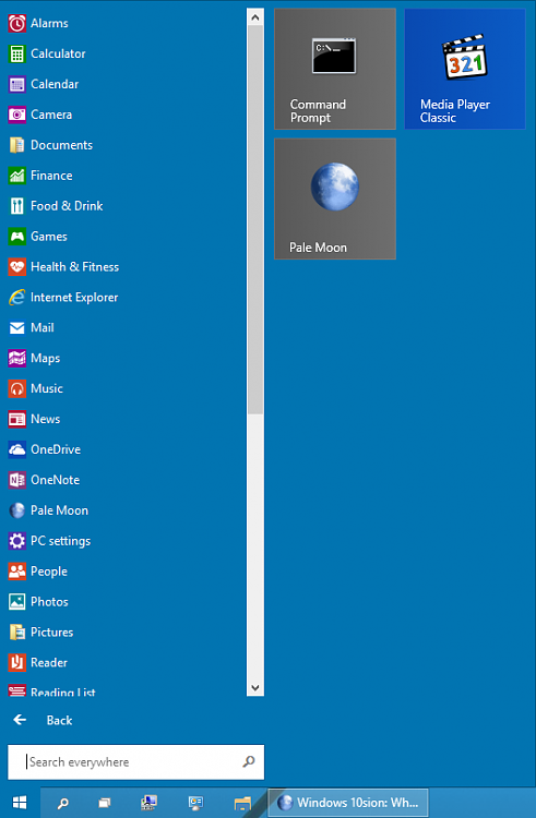 Windows 10sion: What's Old Is New Again-pinned-programs.png