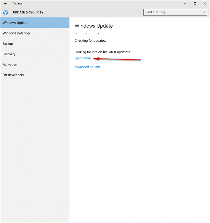 Click image for larger version.  Name:Windows Update Learn More.png Views:4 Size:18.6 KB ID:67253